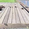 Padouk / Padoek B-fix (blinde bevestiging) classic vlonder / rabat deel 21x55mm geschaafd - ad (aangedroogd) - tropisch hardhout