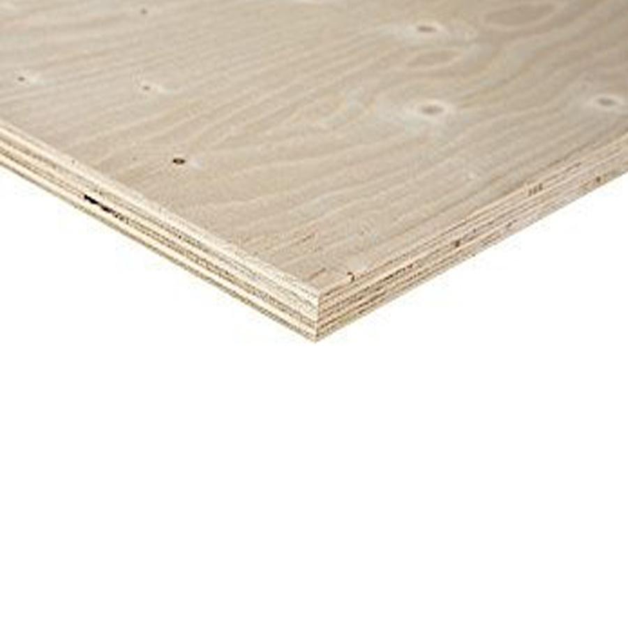 Underlayment Fins Vuren WBP - 12 mm - 305x153 cm - Topfloor plaat - KH / CE2+ - PEFC mix