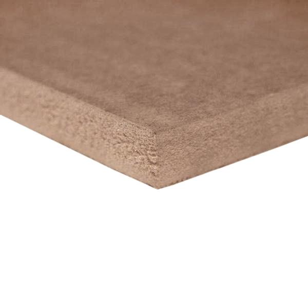 MDF Medite - 25 mm - 244x122 cm - naaldhout - E1 - onbehandeld glad geschuurd - CE keurmerk - FSC mix