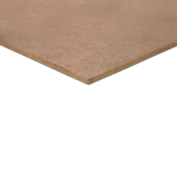 MDF Medite - 12 mm - 275x122 cm - naaldhout - E1 - onbehandeld glad geschuurd - CE keurmerk - FSC mix