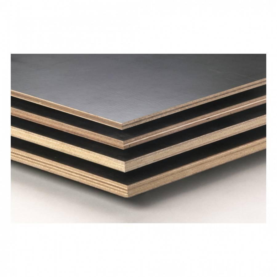 Betonplex hardhout - 9 mm - 250x125 cm - IHP (Indonesisch hardhout muliplex) - CE4/CE2+ - Betonmultiplex hardhout mix
