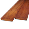 Padouk / Padoek B-fix (blinde bevestiging) classic rabat deel 21x143 mm geschaafd - ad (aangedroogd) - tropisch hardhout