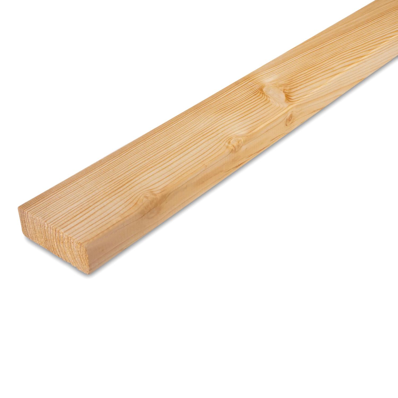 Siberisch lariks plank 28x68mm - geschaafd - kunstmatig gedroogd (kd 18-20%)
