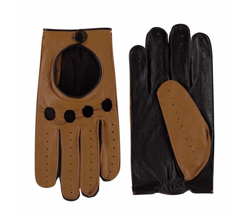 Hirschleder Herren Autofahrerhandschuhe Modell Yamba