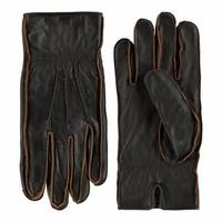 Leren handschoenen heren met vintage uitstraling model Noja