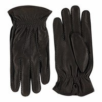 Deer leather men's gloves model Hitchin