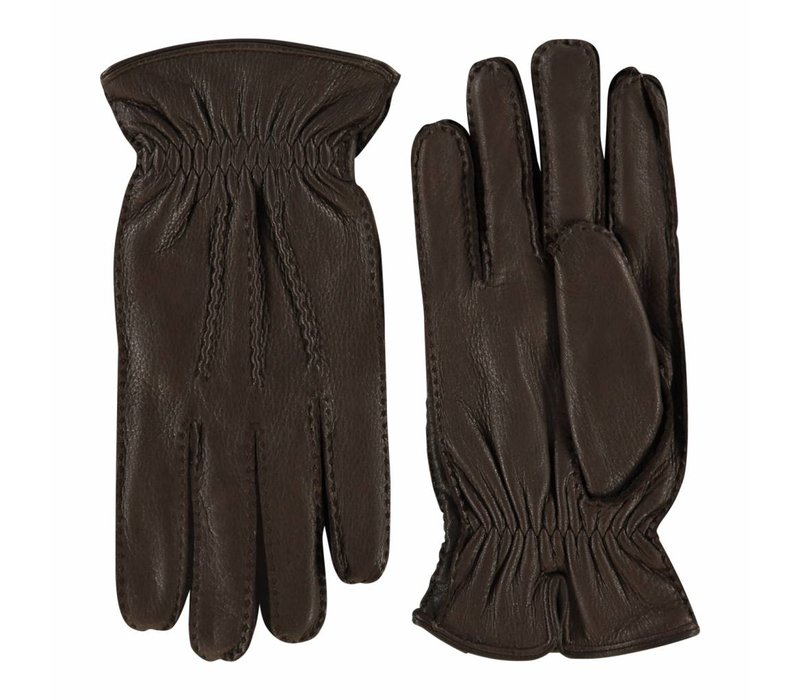 Herten leren handschoenen heren model Hitchin