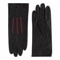 Leather ladies gloves model Agordo