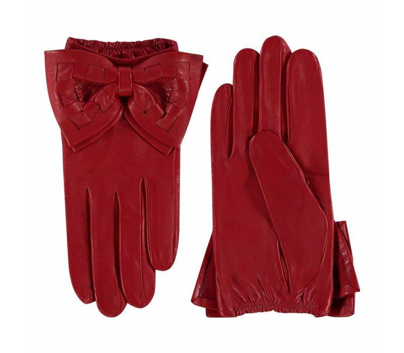 Leren dames handschoenen model Avola