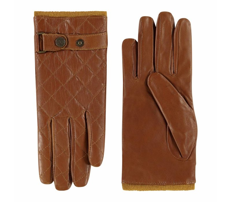 Sportieve leren handschoenen dames model Infesta