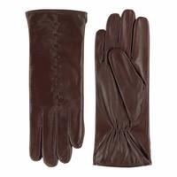 Leather ladies gloves model Lezuza