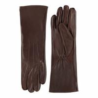 Lange nappa leren handschoenen dames model Reinoso