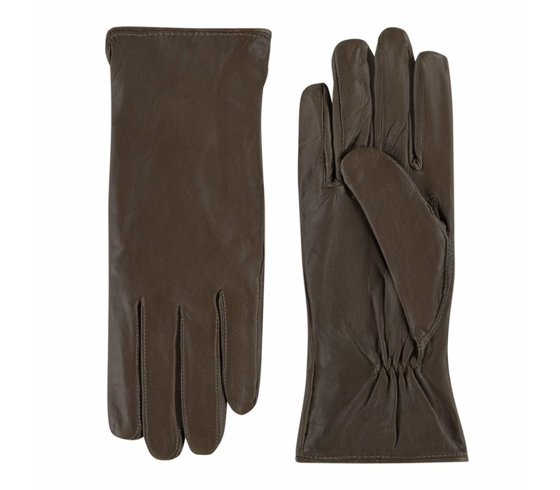 Leather ladies gloves model Stafford