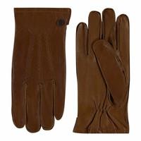 Klassieke leren handschoenen heren model Dudley