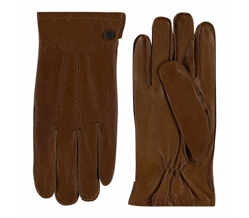 Classic leather men's gloves model Dudley