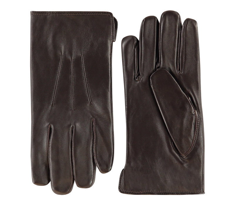 Leather men's gloves model Edinburgh