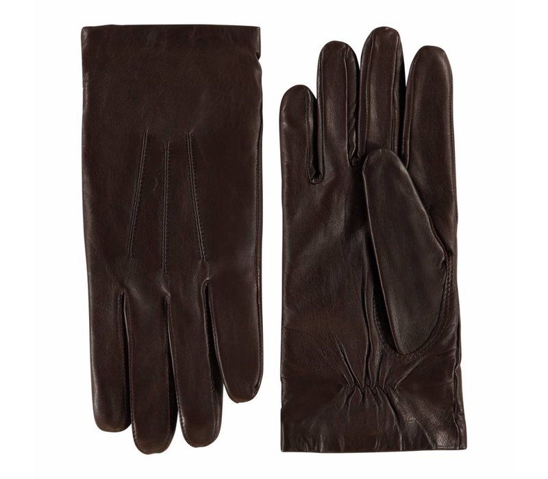 Leather men's gloves from model Radcliffe