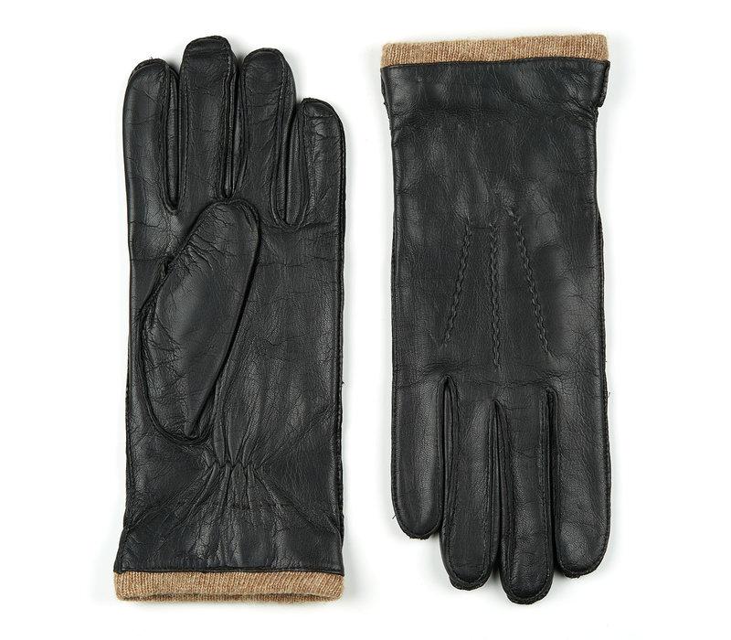 Leren heren handschoenen model Iscar