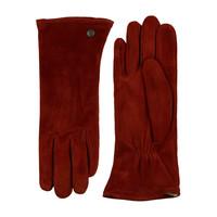 Suède handschoenen dames met drie opnaden model Boretto