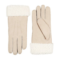 Lammy ladies gloves with turned-up cuff model Helsinki