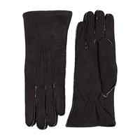 Curly lammy ladies gloves model Molde