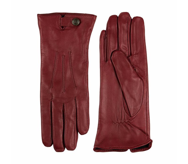Leather ladies gloves model Scarlino