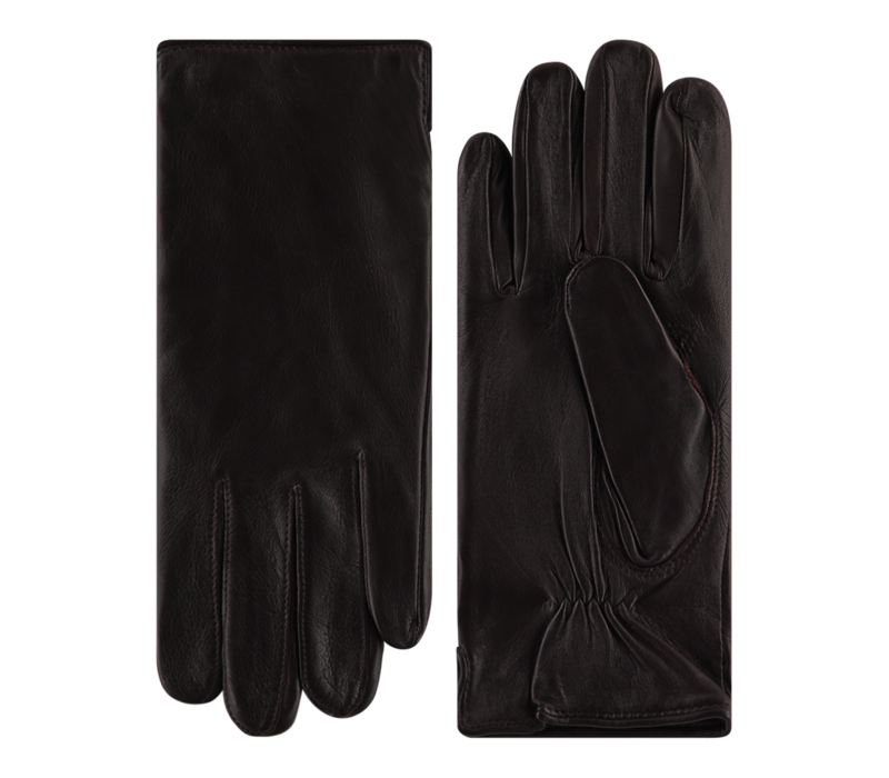 Classic leather men's gloves model Picadilly