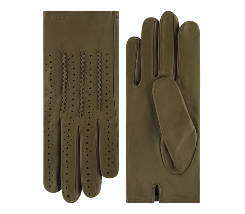 Leather ladies gloves model Arese