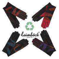 Multicolor leren handschoenen dames model Durban