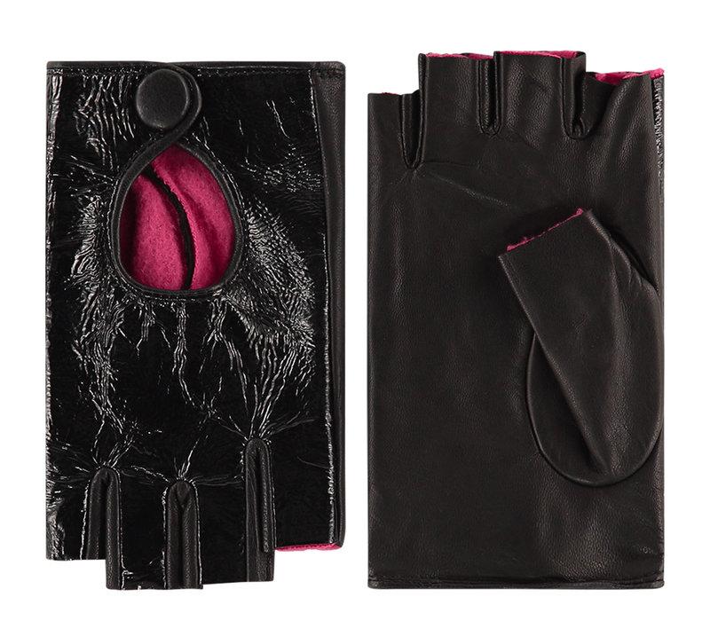 Leder Damenhandschuhe mit Kurzfinger Modell Izurzu