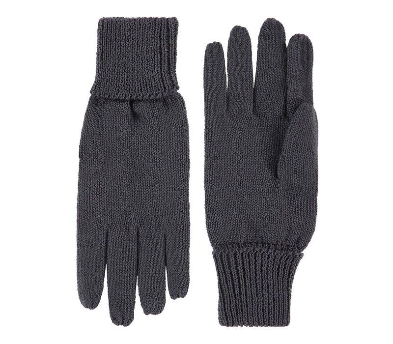 Gebreide dames handschoenen van zuiver wol model Leipzig