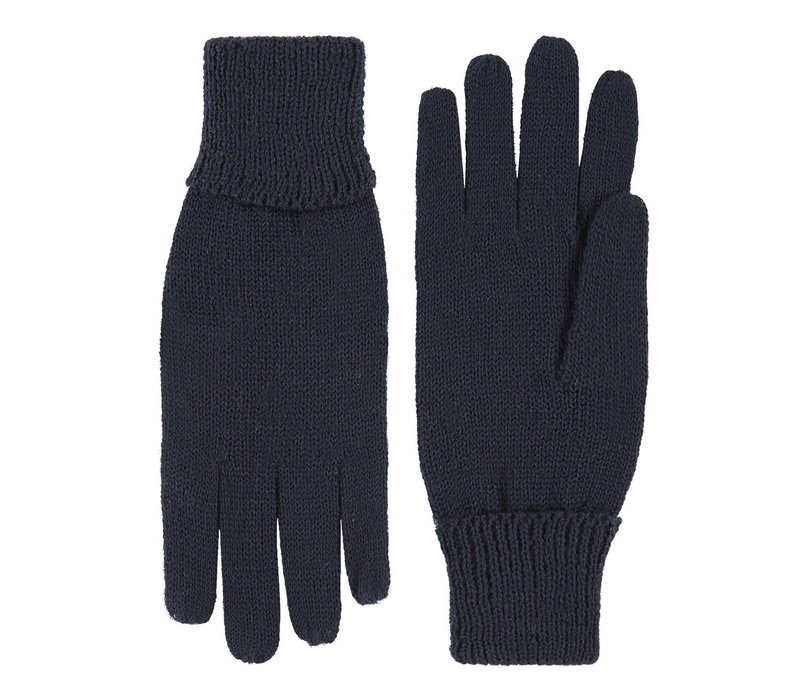 Gestrickte Damenhandschuhe aus zuiver wol Modell Leipzig