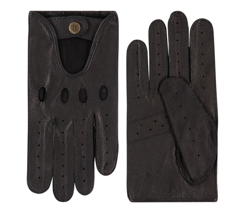 Pigskin leather men's driving gloves model Orlando