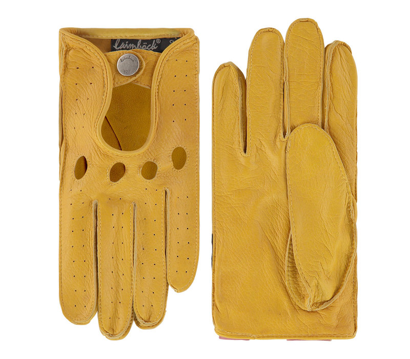 Deerlook leather driving gloves for men model Andalusie