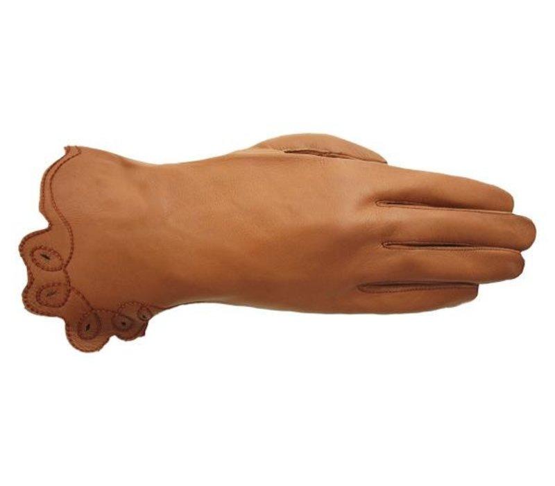 Leather ladies gloves model Altea