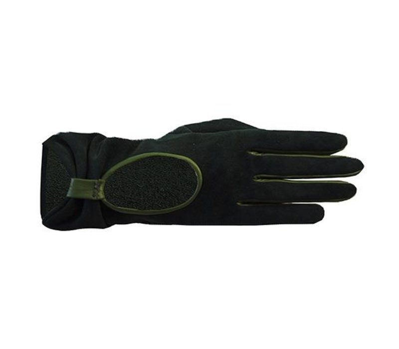 Suede ladies gloves model Polino