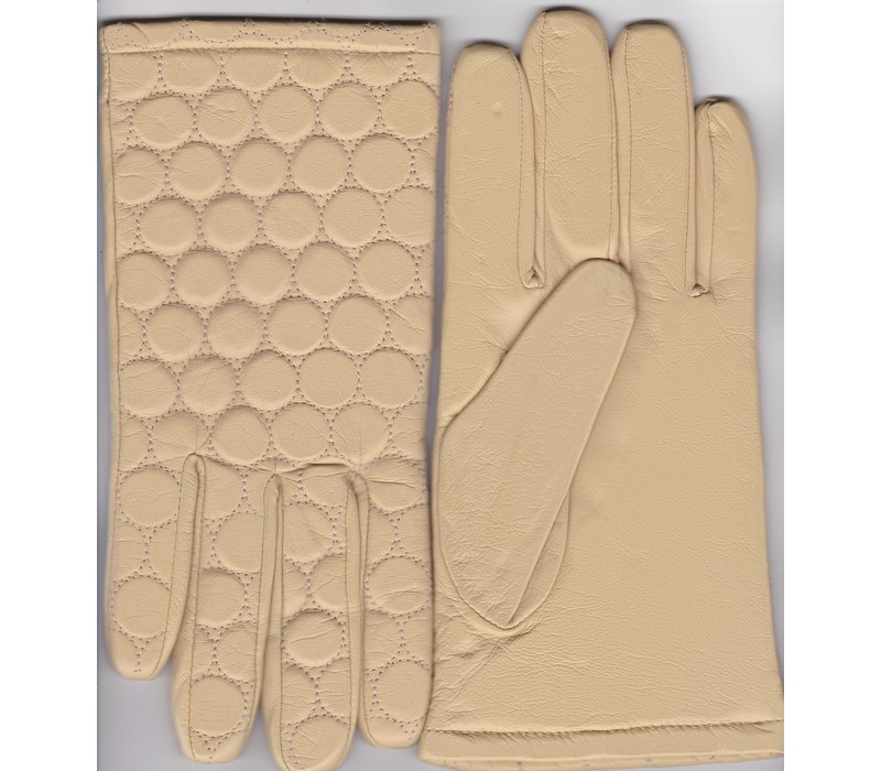 Leather ladies gloves model Fortezza