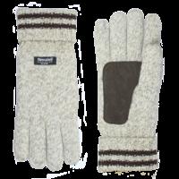 Shetland wol gebreide heren handschoenen model Keltic