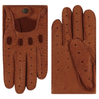 Peccary leather ladies driving gloves model Oldham