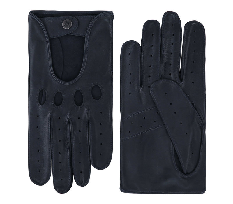 Leather men's driving gloves model Manly