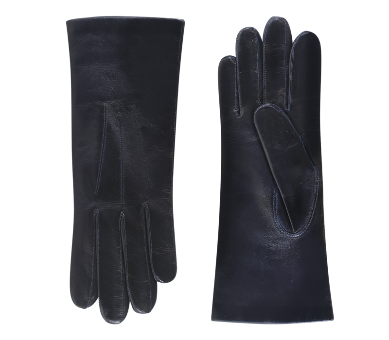 Leather ladies gloves with cashmere lining model Wolverhampton