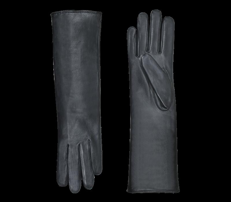 Lange leren handschoenen dames model Isla