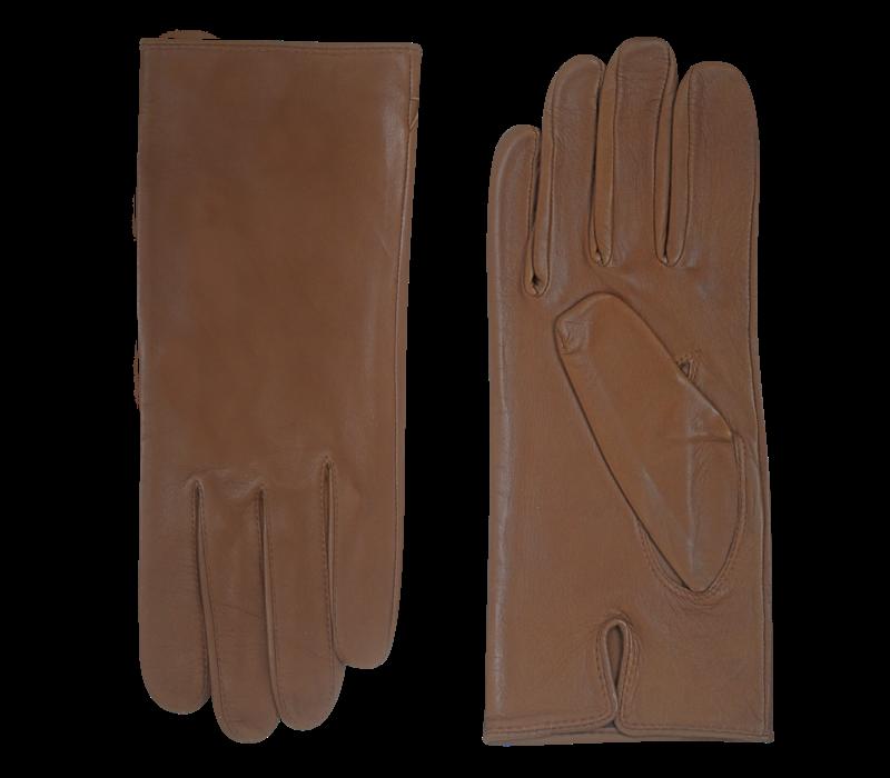 Ongevoerde leren handschoenen heren model Collaroy