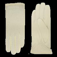 Leder Ungefütterte Damenhandschuhe mit Perforation auf der Oberhand Modell Acapulco