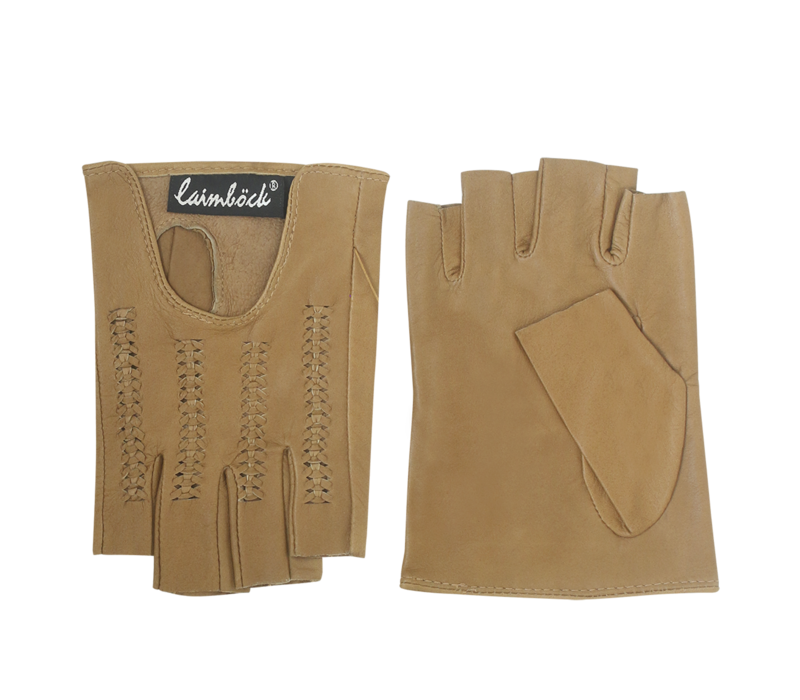 Leather ladies gloves model Saltillo