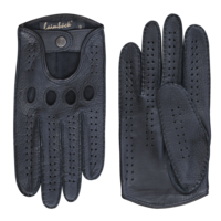 Leather men's driving gloves model Buxton