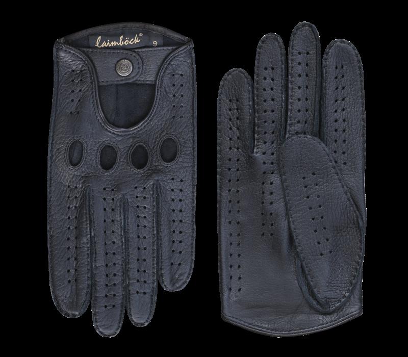 Leder Herren Autofahrerhandschuhe Modell Buxton