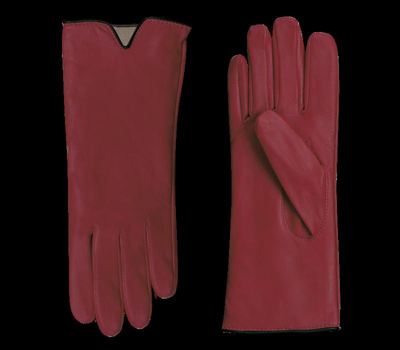 Leren handschoenen dames model Sirmione