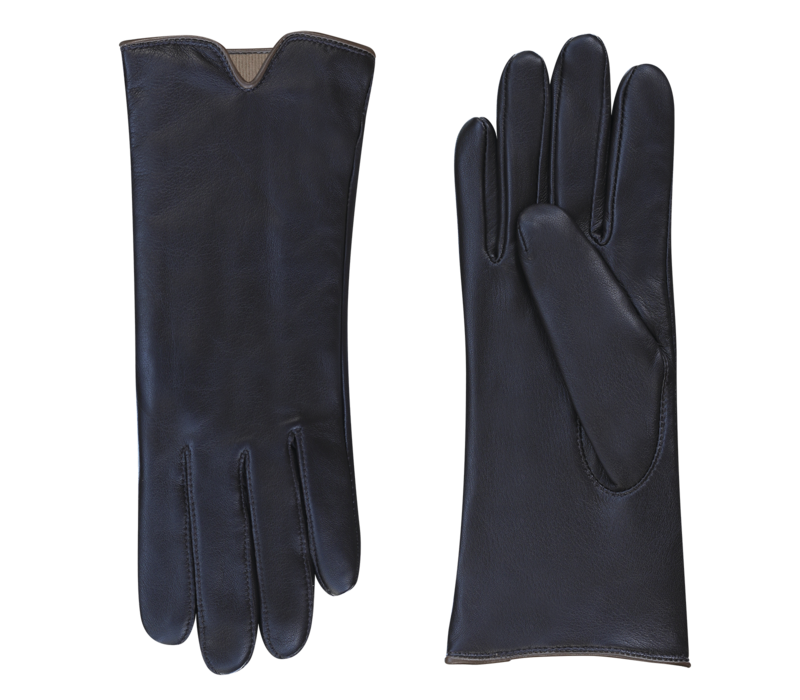 Leather ladies gloves model Sirmione