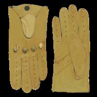 Leather men's driving gloves model Manly